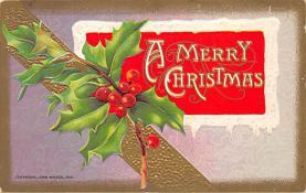 xms003279 - Christmas Post Card