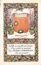 xms003357 - Christmas Postcard Antique Xmas Postcard