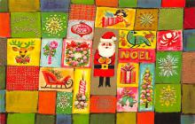 xms003361 - Christmas Postcard Antique Xmas Postcard