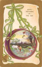 xms003681 - Many Returns or the Day Postcard