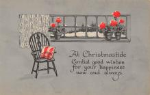 xms003687 - Christmas Postcard Vintage Antique Xmas Post Card