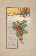 xms003689 - Christmas Postcard Vintage Antique Xmas Post Card