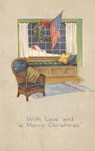 xms003717 - Christmas Postcard Vintage Antique Xmas Post Card