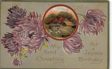 xms003745 - Christmas Postcard Antique Xmas Post Card