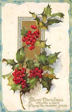 xms003775 - Christmas Postcard Antique Xmas Post Card