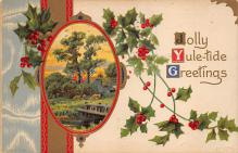 xms003779 - Christmas Postcard Antique Xmas Post Card