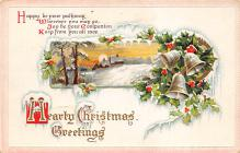 xms003783 - Christmas Postcard Antique Xmas Post Card
