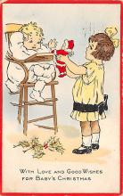 xms003787 - Christmas Postcard Antique Xmas Post Card