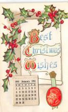 xms003789 - Christmas Postcard Antique Xmas Post Card