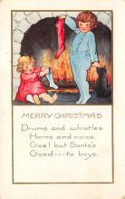 xms003791 - Christmas Postcard Antique Xmas Post Card
