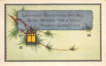 xms003793 - Christmas Postcard Antique Xmas Post Card