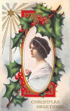xms003797 - Christmas Postcard Antique Xmas Post Card