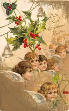 xms003799 - Christmas Postcard Antique Xmas Post Card