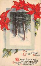 xms004023 - Christmas Holiday Postcard Vintage Xmas Post Card