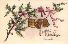 xms004041 - Christmas Holiday Postcard Vintage Xmas Post Card