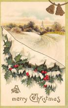xms004067 - Christmas Holiday Postcard Vintage Xmas Post Card