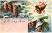 xms004103 - Christmas Holiday Postcard Vintage Xmas Post Card