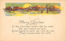 xms004107 - Christmas Holiday Postcard Vintage Xmas Post Card