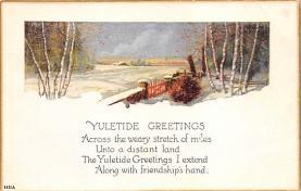 xms004115 - Christmas Holiday Postcard Vintage Xmas Post Card