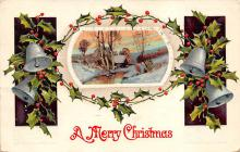 xms004119 - Christmas Holiday Postcard Vintage Xmas Post Card