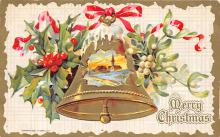 xms004145 - Christmas Holiday Postcard Vintage Xmas Post Card