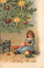 xms004147 - Christmas Holiday Postcard Vintage Xmas Post Card