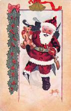 xms004189 - Santa Clause Christmas Postcard