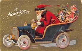 xms004425 - Santa Clause Christmas Post Card