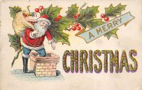 xms004435 - Santa Clause Christmas Postcard