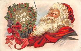 xms004439 - Santa Clause Christmas Postcard