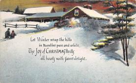 xms004569 - Christmas Postcard