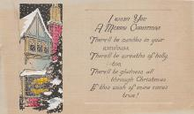xms004667 - Christmas Postcard