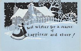 xms004669 - Christmas Postcard