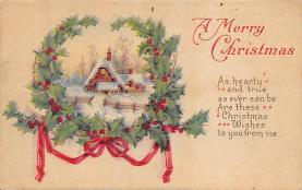 xms004721 - Christmas Postcard