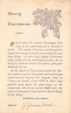 xms004773 - Christmas Postcard
