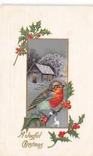 xms004807 - Christmas Postcard Old Vintage Post Card
