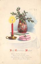 xms004837 - Christmas Postcard Old Vintage Post Card