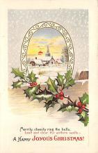xms004859 - Christmas Postcard Old Vintage Post Card
