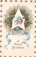 xms004871 - Christmas Postcard Old Vintage Post Card