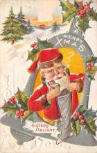 xms004977 - Santa Clause Christmas Post Card