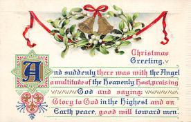 xms004983 - Christmas Postcard