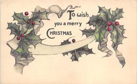 xms004993 - Christmas Postcard