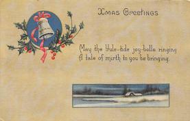 xms004995 - Christmas Postcard