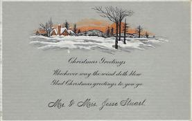 xms005003 - Christmas Postcard