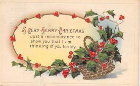 xms005031 - Christmas Postcard