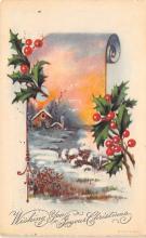 xms005039 - Christmas Postcard