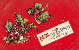 xms005085 - Christmas Postcard