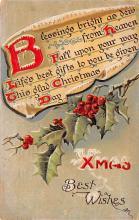 xms005101 - Christmas Postcard