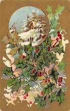 xms005105 - Christmas Postcard