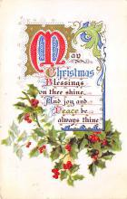 xms005175 - Christmas Postcard